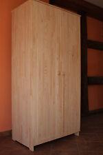 Meubles pour enfants bébé Armoire 2 portes vêtements bois massif complet 18mm