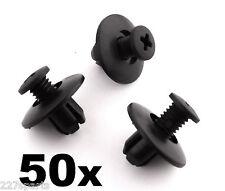 50x Honda plastica Trim Clip, 8mm per PASSARUOTA rivestimenti, Cappuccio & ALTRE FINITURE