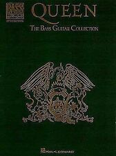 Queen The Bass Guitar Collection Bass Recorded Versions Tab Book NEW!
