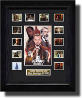 Django Unchained Montage filmcell  ,signed by quentin tarantino  fc2089e