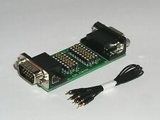 SUB D Mess und Prüf Adapter 15  polig  HD  clever prüfen und anpassen  230450-IC