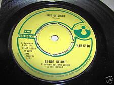 BE BOP DELUXE-KISS OF LIGHT/SHINE UK rock 45