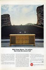 """1966 RCA Victor Color TV Television """"The Beleares"""" PRINT AD"""