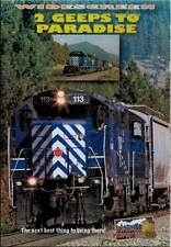 2 Geeps to Paradise DVD NEW Highball Montana Rail Link MRL Missoula Paradise two