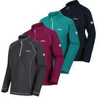 Regatta Unisex Kids Pira Full Zip Extol Stretch Mini Stripe Micro Fleece