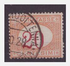 REGNO 1890 - SEGNATASSE  Centesimi 20  CIFRA SPOSTATA   usato
