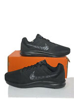 New Nike Downshifter 7 Mens Size 13 Solid Black Comfy Running Shoes 852459-001