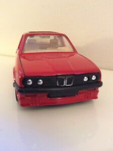 Vintage Corgi Red BMW 325i 1991 Made In Gt. Britain, Opening Doors, Sliding Roof
