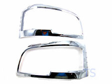 Cover Chrome Head Lamps Lights Trim Fit Toyota Hiace Commuter 2005 06 08 Van