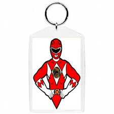 Mighty Morphin Power Rangers RED Jason Character Photo Accessory New Keychain #4