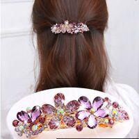 Fashion jewelry crystal hair accessories hairpin hairpin hairpin headdress