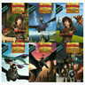 DreamWorks Dragon Readers Series 6 Books Collection Set How to Track a Dragon