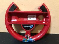 Mario Kart 8 Red Racing Wheel For Nintendo Wii - Free Shipping