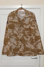Army desert camouflage shirt RAF patch combat jacket DPM 180/96 tall/med grd A