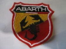 fiat Abarth 500 124 600 1000 Patch Aufnäher Bügelbild