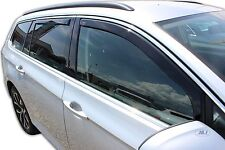DVW31003 VW  PASSAT B8 Varian Estate  2014-up wind deflectors 4pc TINTED HEKO