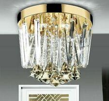Crystal Round Ceiling Light Modern Home Decor Interior Lighting Led Lamp Fixture