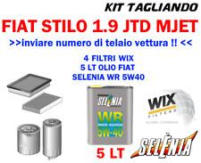 KIT TAGLIANDO FIAT STILO 1.9 1900 MJET WIX