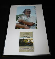 Hale Irwin Signed Framed 12x18 Photo Display