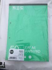 Rhino Refill Pad 6 x 50 Leaf Pads A4 1.5.10mm Graph Ref: HAG1 RY0239