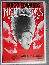 JANGO EDWARDS 1986 STUTTGART  ORIGINAL Concert-Konzert-Poster-Plakat Din A1