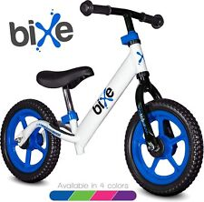Bixe Aluminum Balance Bike for Kids and Toddlers No Pedal Sport Training (Blue)