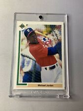 Michael Jordan - 1991 Upper Deck  #SP1 Chicago White Sox Baseball Rookie Card