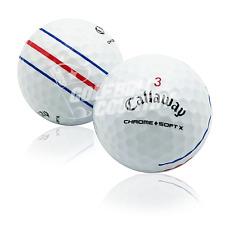 24 Callaway Chrome Soft X Triple Track Near Mint AAAA Used Golf Balls