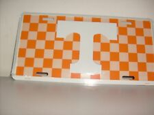 Tennessee Checkerboard Auto Tag
