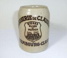 Alter Bierkrug Krug Brasserie de Clausen Luxembourg