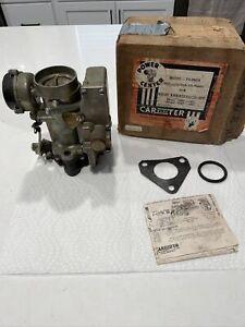 NOS Carter YH Carburetor 1952-53 Nash Ambassador Six 5260 5360 YH-895SA