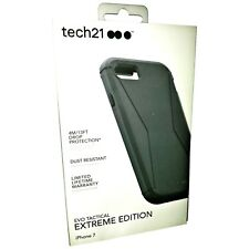 TECH21 IPHONE 8/7 EVO TACTICAL EXTREME EDITION TOUGH CASE COVER & HOLSTER BLACK