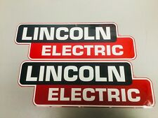 "Lincoln Electric Welder OEM Replacement Decal/Sticker Set 14"" x 5"""