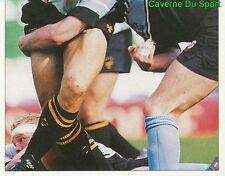 351 LAWRENCE DALLAGLIO WASPS 2/2  STICKER PREMIER DIVISION RUGBY 1998 PANINI