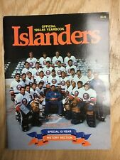 1984-85 New York Islanders Official Yearbook