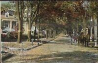 Lockport NY Genesee St. c1910 Postcard