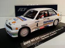 Slot car SCX Scalextric Fly 88203 BMW M3 E30 CTO. España Rallyes 1987 A-1701