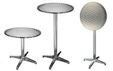 Bistrotisch klapp- höhenverstellbar Aluminium Stehtisch Steh-tisch bistro tisch