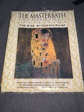 The MasterBath Shower Curtain Collection - Klimt - The Kiss