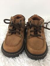 Osh Kosh Genuine Kids Leather Hiking Boot Lace Up Toddler Size 5 New
