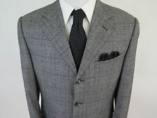 Canali Exclusive Special Edition Winter Tale 160s Plaids Sport Coat 40 R Italy