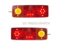 2 x LED RÜCKLICHTER RÜCKLEUCHTE - 287,5 x 100,5 mm - 12/24 V  + KENNZEICHENLICHT