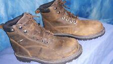 Wolverine steel toe work boots w10633 waterproof mens size 9.5 M