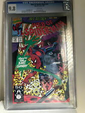 Web of Spider-man #74 cgc 9.8 1st Appearance of the AVANT GUARD