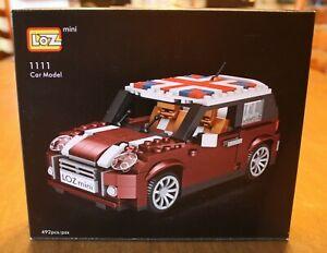 LOZ Creator Series Mini Cooper Model Car 1111 NIB