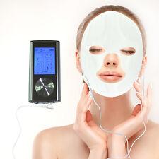 Электрод импульсный терапии массажер десятки + массаж лица и глаз оправы маски 8 режимов Lcd