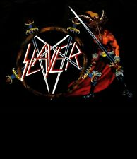 SLAYER cd cvr SHOW NO MERCY Official SHIRT LRG new Nbp