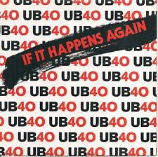 "45 TOURS / 7"" SINGLE--UB40 / UB 40--IF IT HAPPENS AGAIN / NKOMO A GO-GO--1984"