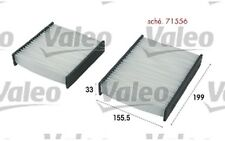 VALEO Filtro, aire habitáculo CITROEN C4 C3 DS3 PEUGEOT 207 208 2008 715556