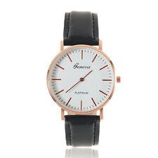 New Fashion Men's Casio Sub-brand Leather Band Steel Quartz Analog Wrist Watch